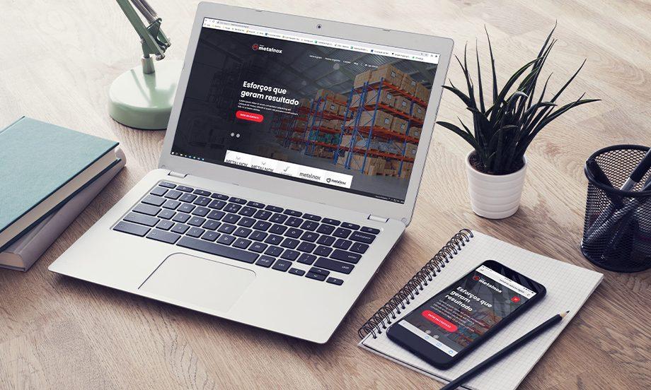 Grupo Metalnox lança novo site para acompanhar sua fase de expansão